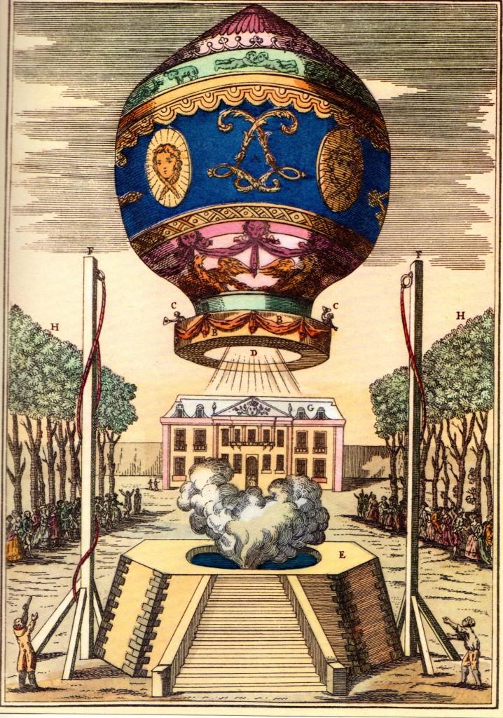 Montgolfiere balionas