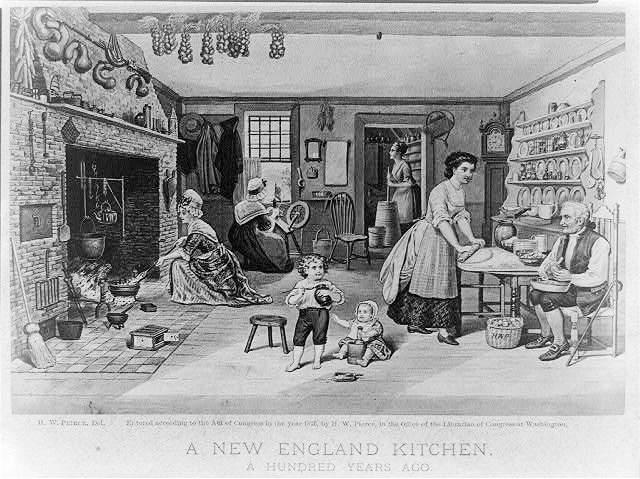 virtuvės baldai, istorija
