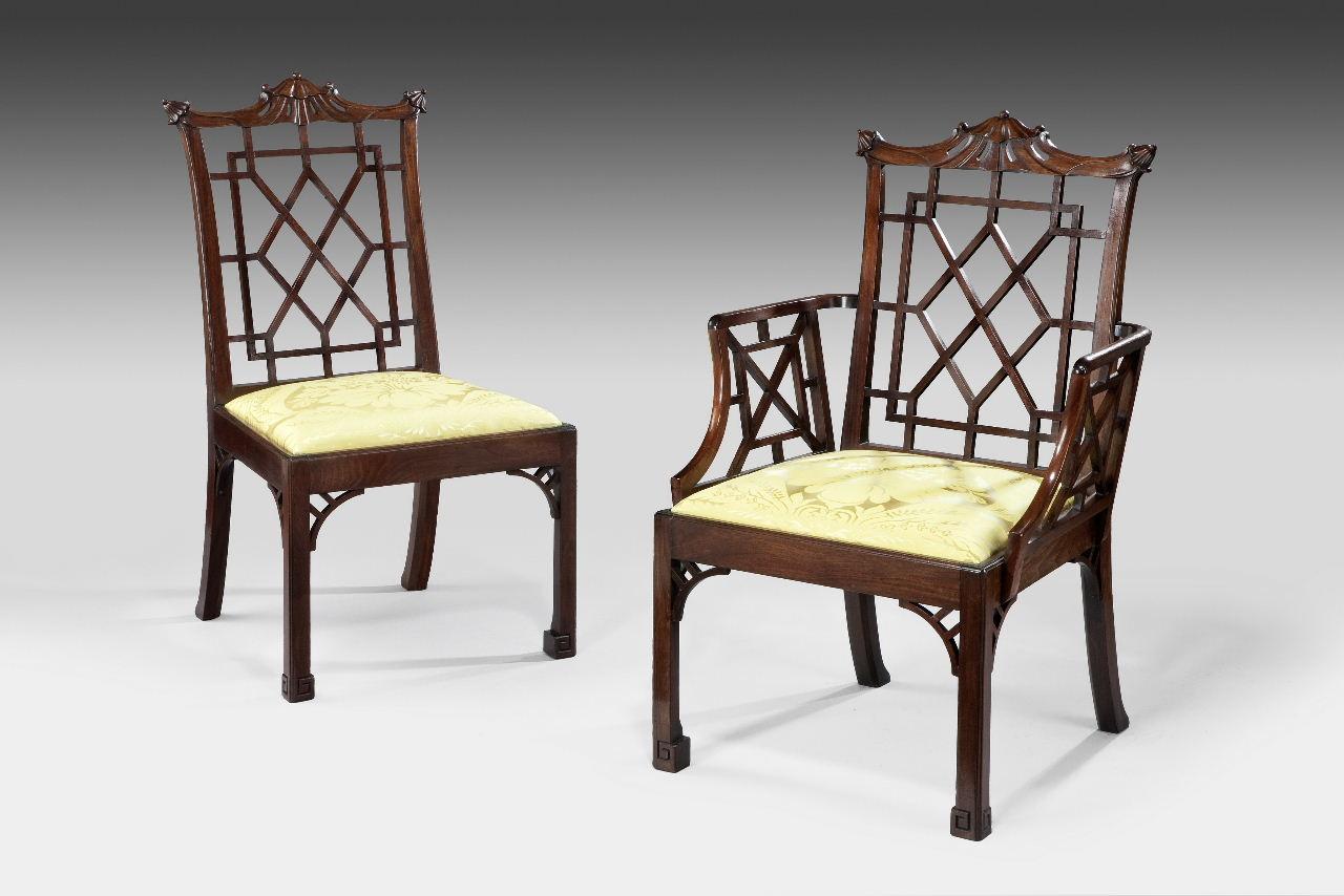 Chippendail kėdė